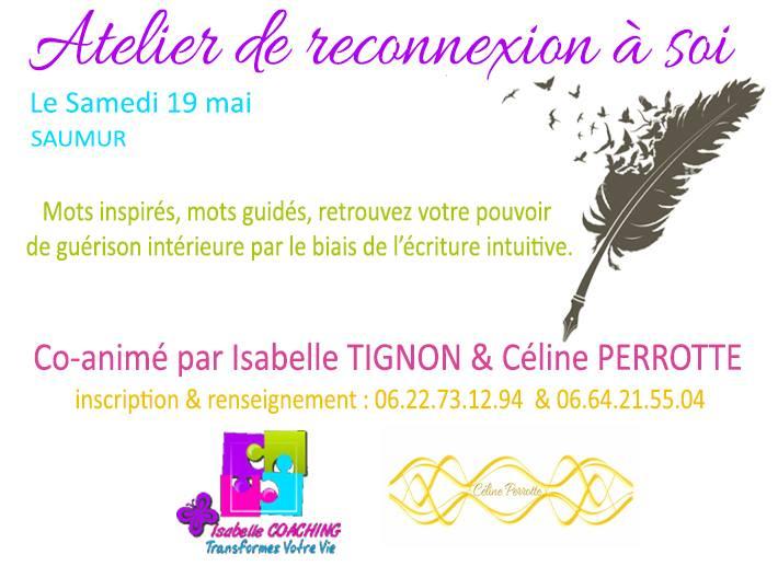 atelier reconnexion Isabelle Tignon Céline Perrotte