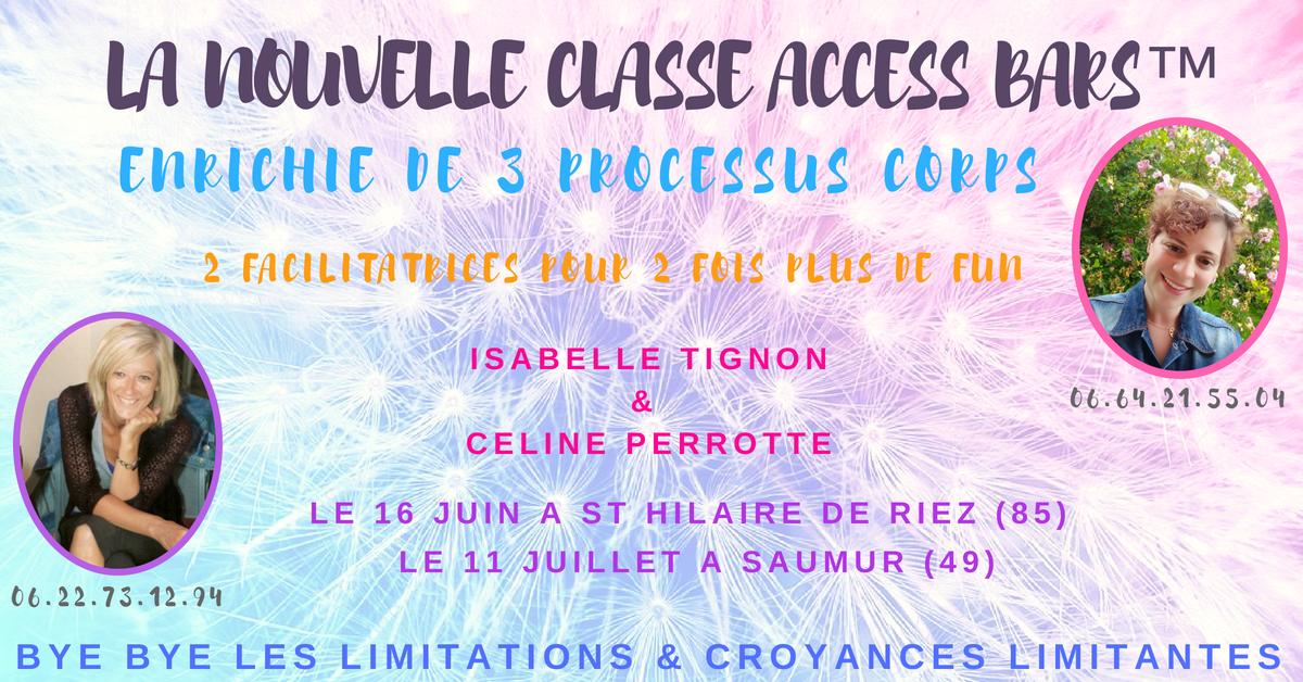classe access bars juillet isabelle tignon céline perrotte