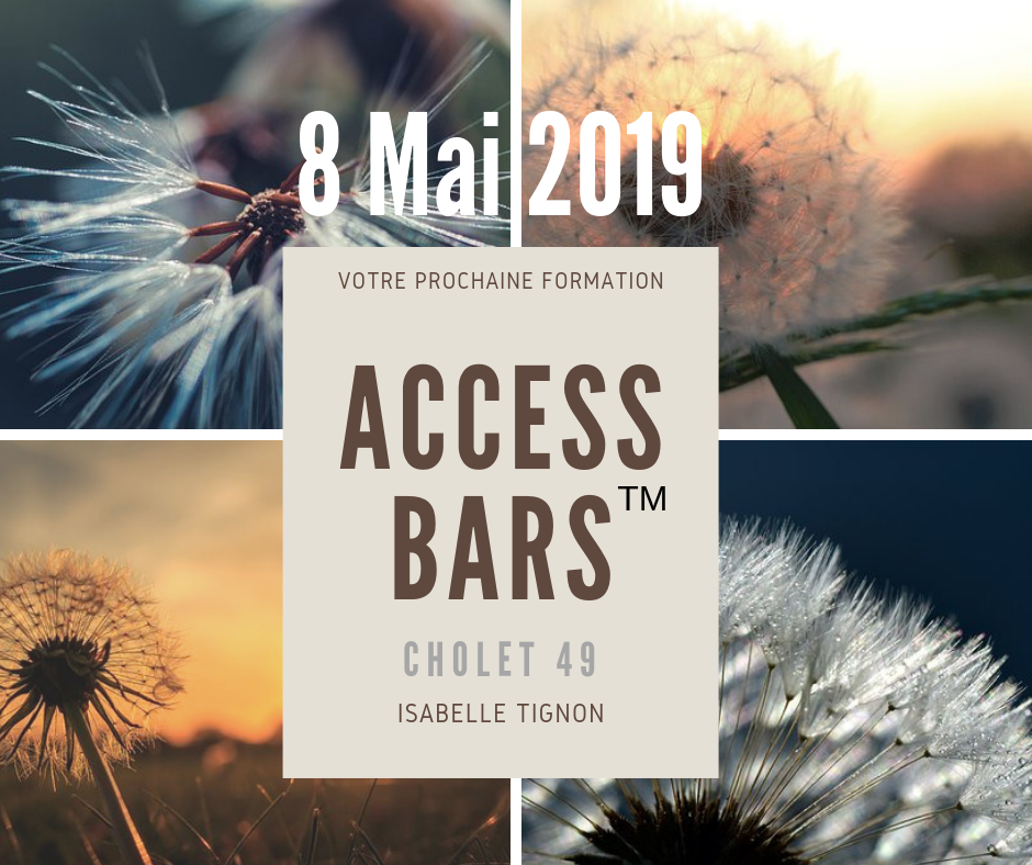 ACCESS BARS CHOLET MAI 2019 ISABELLE TIGNON