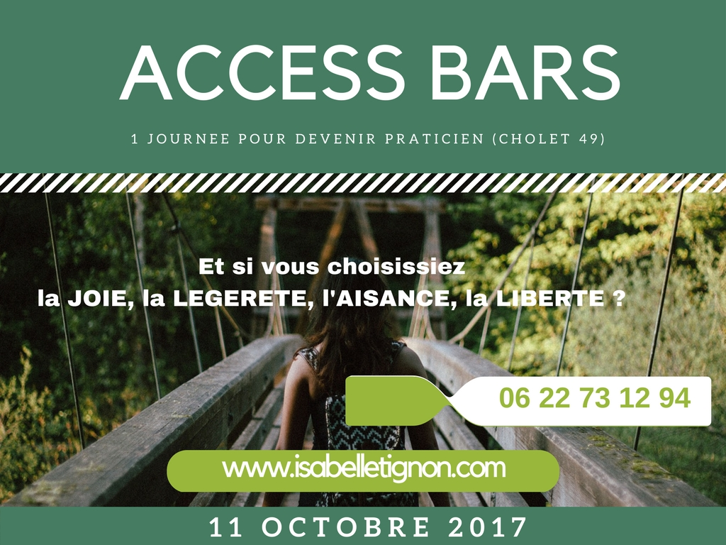Devenez Praticien ACCESS BARS octo2017