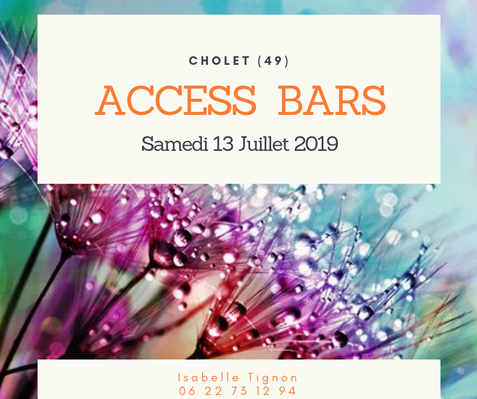 Formation Access Bars Cholet 49 13-07-2019