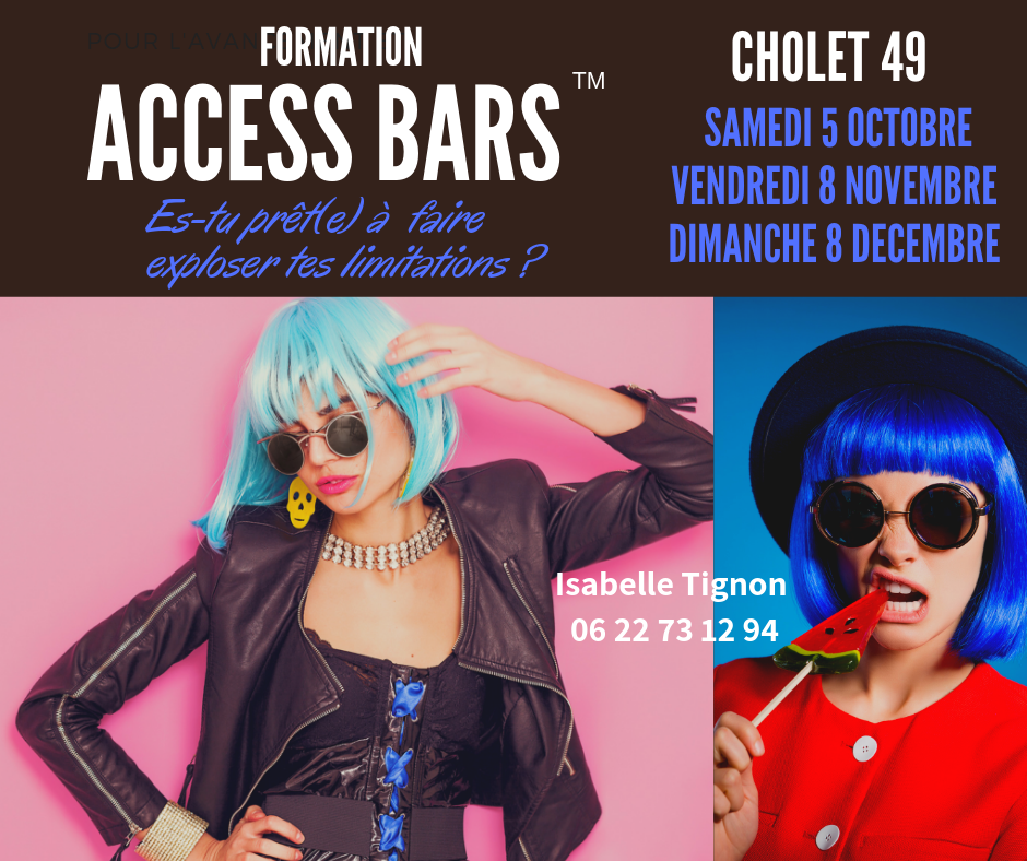 formation access bars Cholet 49 isabelle tignon