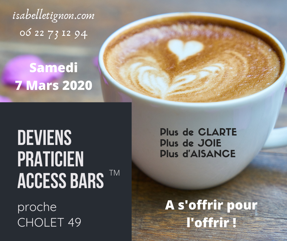 Access Bars Cholet 07-03-2020